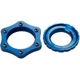 Reverse Centerlock-adapter, dark blue